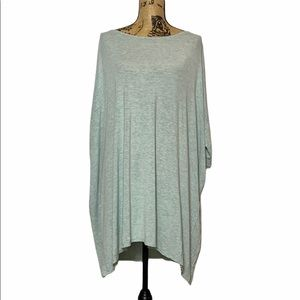 Pinkblush Oversized Blue Grey T-Shirt Dress 3 XL